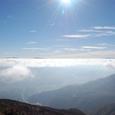 志賀、浅間山と八ヶ岳連峰