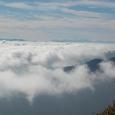 正面は八ヶ岳連峰
