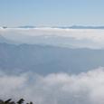 白馬村方面の雲海