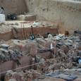 兵馬俑坑発掘現場