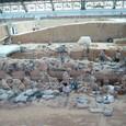 1号坑 兵馬俑坑発掘現場