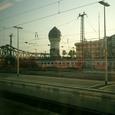 フランクフルトの駅から出発です