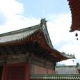 日本の古いお寺を思い出す