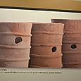 2本マストの船の線刻画がある円筒埴輪