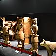 埴輪祭祀場 牛・武人・盾
