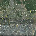 安満宮山古墳・今城塚古墳・太田茶臼山古墳衛星地図
