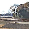 今城塚古墳 北側内堤に埴輪祭祀場
