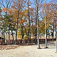 内堤の円筒埴輪列と内濠