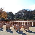 4区 馬と白鳥の列