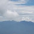 主峰赤岳中心に南八ヶ岳連峰