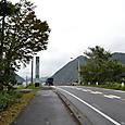 姫川・根知川合流地点