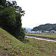 根知川と断層