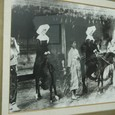 外人女性と馬
