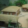 屋根はチガヤで葺かれている