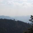 高尾山より右舷に見える山々