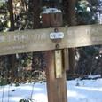 奈良子峠到着 陣馬山まで1.5キロ