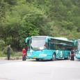 九寨溝専用バス