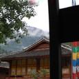 樹正寨(チベット族)の集落
