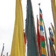 祈祷旗(タルチョー)