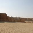 遺跡西の大周壁