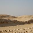 遺跡西は沙漠