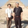 階段ピラミッドにて