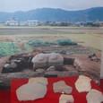 鴨稲荷山古墳 発掘時の写真