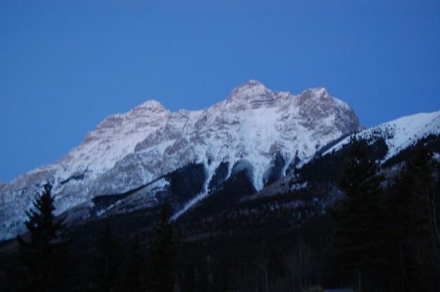 カナナスキスの山々