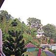 山頂のホテルからの眺め