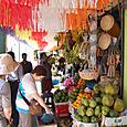 果物を買う