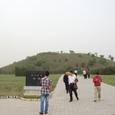 景帝陵 方形墳墓