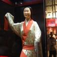 前漢時代の女性衣装