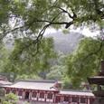 驪山(りざん)を見上げる