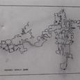地下都市の地図