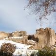 カイマクル地下都市の岩山
