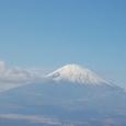 御殿場の向こうに霊峰富士