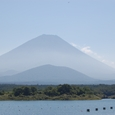 子抱き富士(精進湖)