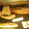 葦船と出土品(葦船)