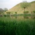 池と夫婦塚