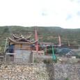 九寨溝→黄龍への道 チベット族の村落