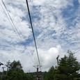 車山の夏の雲