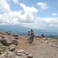 車山山頂から富士山方面を望む
