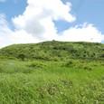 車山湿原から車山山頂を観る