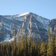 バンフ国立公園北上