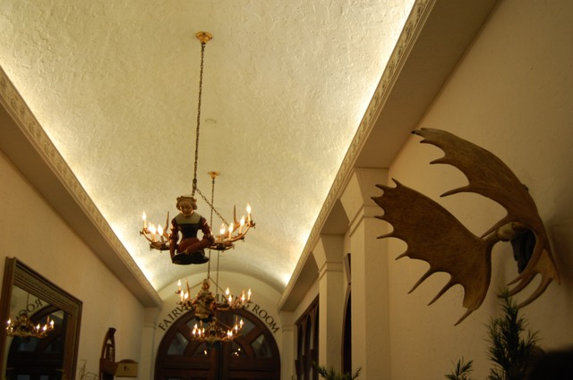 古風な廊下