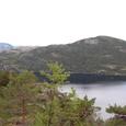 静まり返る湖