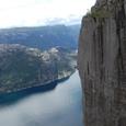 断崖の光景
