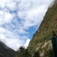 マチュピチュ遺跡方面の空