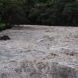ウルバンバ川の濁流