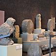 アステカ彫刻群